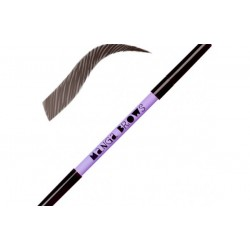 Neve Cosmetics Manga Brows Deep Ebony & Pure Black