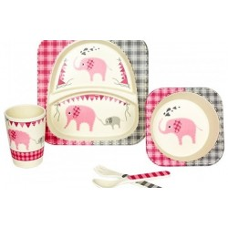 Woodway Kids Set Pappa Elefante