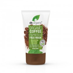 Dr Organic Coffee espresso face mask 125 ML