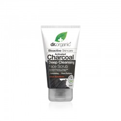 Dr Organic Charcoal face scrub 125 ML